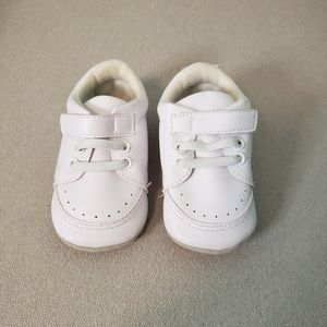 White Baby Walker Shoes